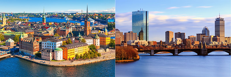 Stockholm Boston