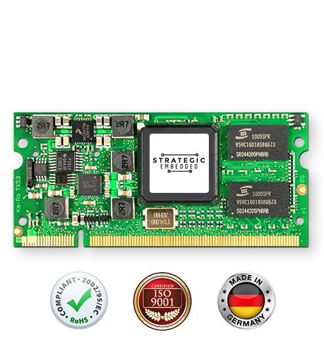 TX53: i.MX537 Computer on Module